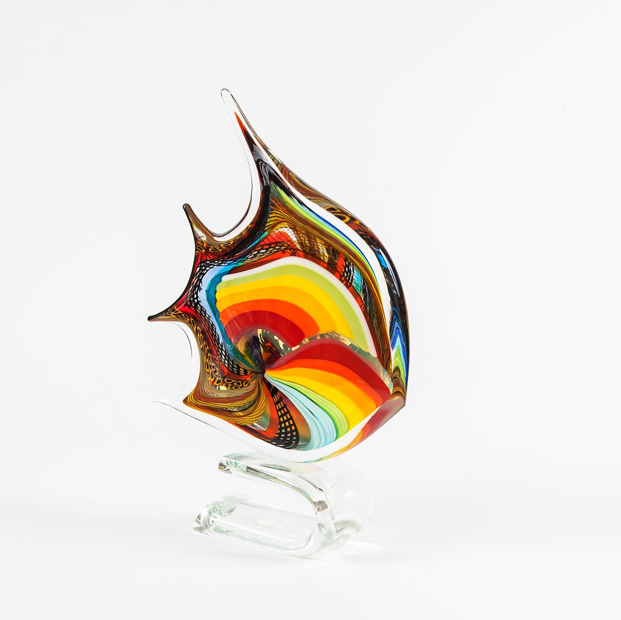 Scultura Pesce Collezione Carnevale Schiavon Art Team