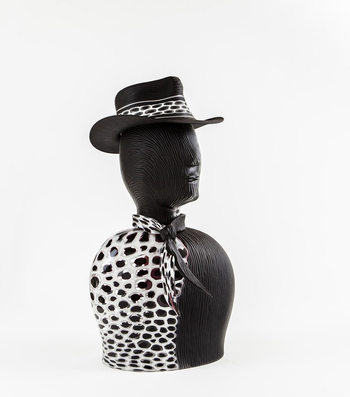 scultura-bianco-e-nero-vetro-murano-schiavon-3