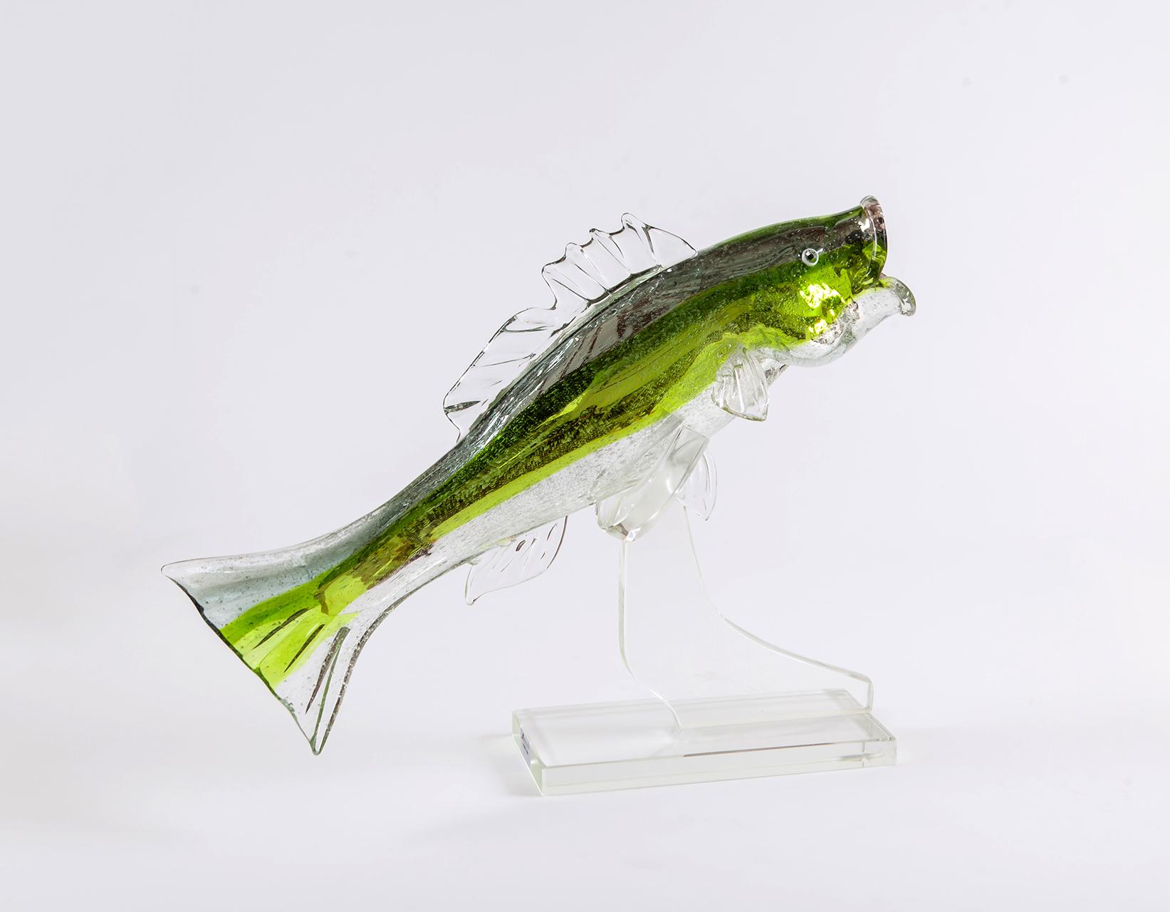 scultura in vetro soffiato Schiavon art team